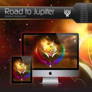 Road to Jupiter Desktop Background