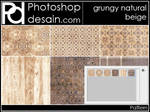 Grungy Natural Beige