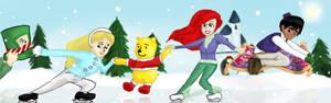 S.Santa- Disney Skate Chain