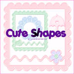 Cute Shapes Pack 3