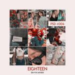 PSD #004 - eighteen by avocadoees