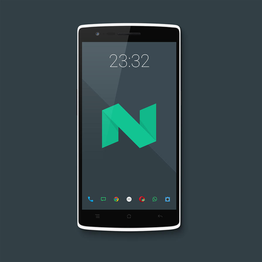Android-N Wallpaper Set by sdots