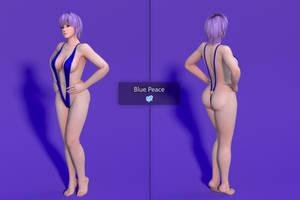 DOAXVV Ayane - Blue Peace [DL] by Shuubaru