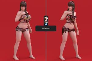 DOAXVV Hitomi - Melty Heart [DL] by Shuubaru