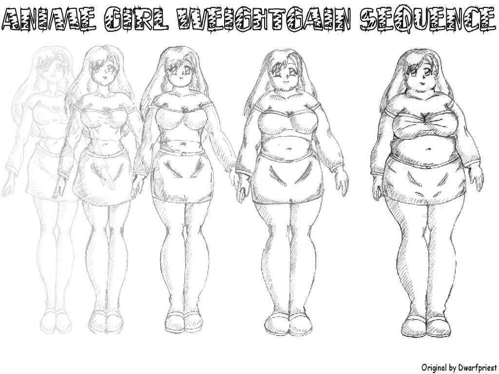 how to draw fat manga