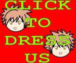 Hikaru and Kaoru Dress-up Game