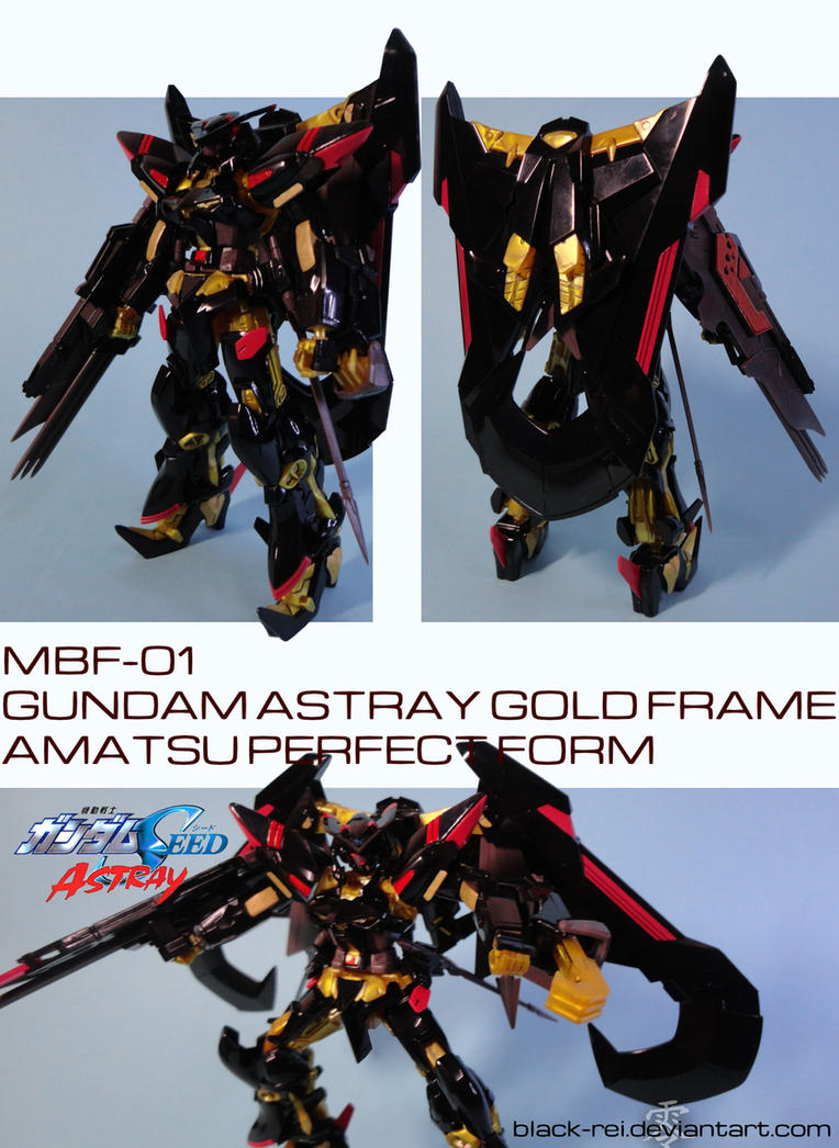 MBF-01 Gundam Astray Gold Frame Amatsu PerfectForm by Black-Rei on ...