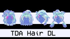 MMD TDA Hair DL #12