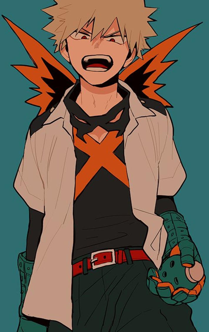 Heroes and Explosions | Katuski Bakugo x Reader by Words-Of