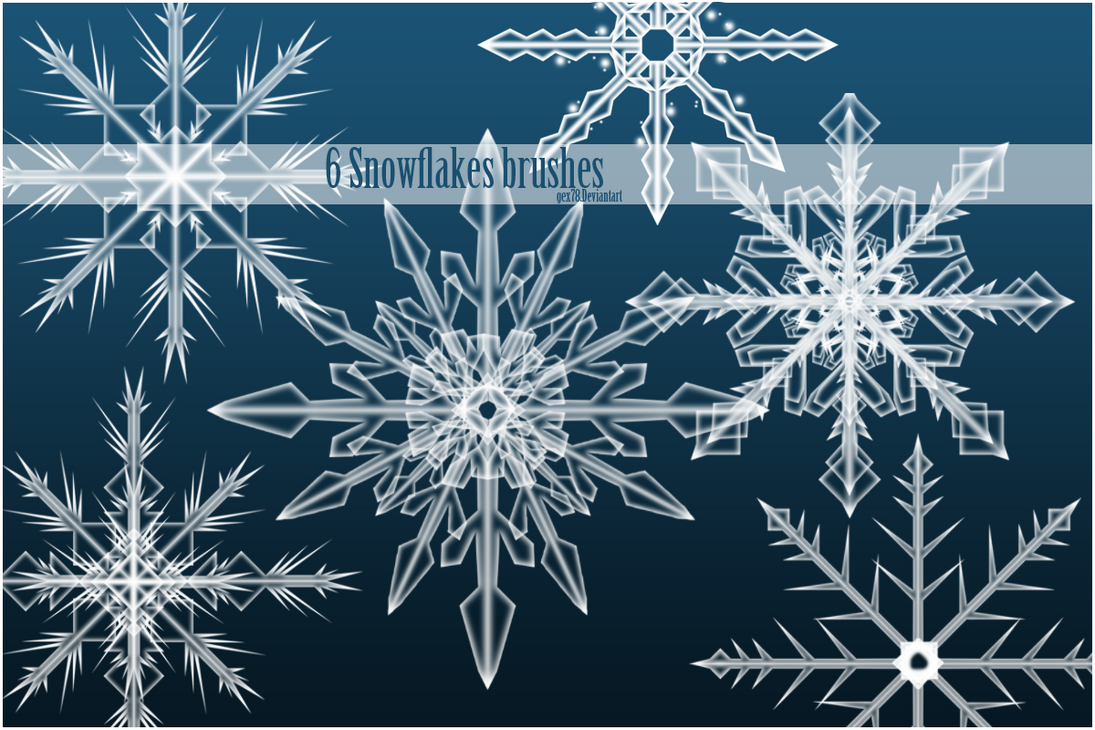 Snowflakes by Gex78