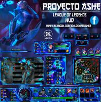 ASHE PROJECT League Of Legends Hud  Joylock by Joy by JoylockDesigner