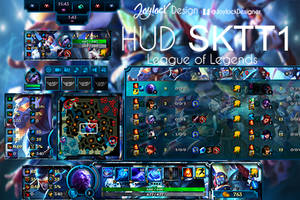 League Of Legends Hud Team Skt t1 by JoylockDesigner