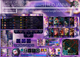 League Of Legends Hud  Star Guardian Janna by JoylockDesigner