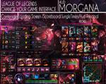League Of Legends Hud Bewitching Morgana by JoylockDesigner