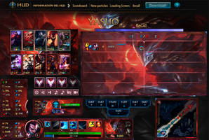League Of Legends  Hud Blood Moon Yasuo by JoylockDesigner
