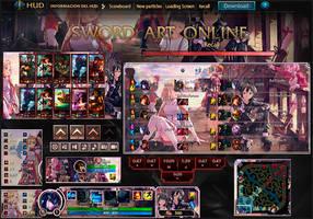 League Of Legends hud SWORD ART ONLINE by JoylockDesigner