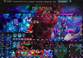 League Of Legends Hud Hud Dj Sona by JoylockDesigner