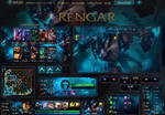 League Of Legends Hud Mecha Rengar