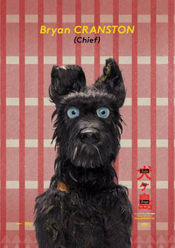 TO PRINT POSTER ISLE OF DOGS A4 CHIEF