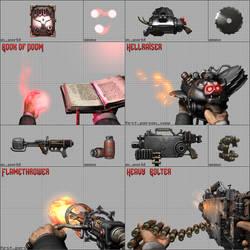 FPS Weapons showreel