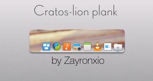 Cratos-lion plank