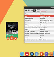 layout Flat-minigmp for gmusicbrowser
