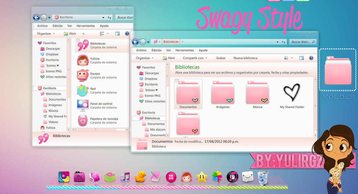 Swagy Style for iconpackager by YuliRgz