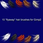 10 Gimp2 Angled HairBrushes