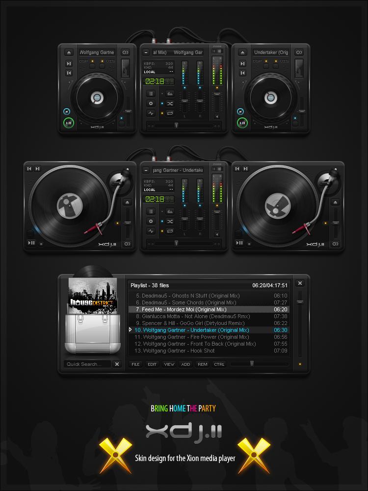 XDJ II - Updated by PureAV