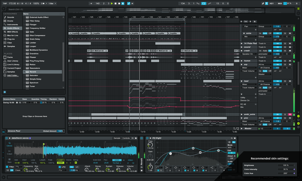 Ableton Live 9 Skin By Pureav On Deviantart