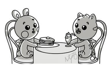 Ms Starskitty 124 2 The Bunny Gets Pancakes By Tassji S