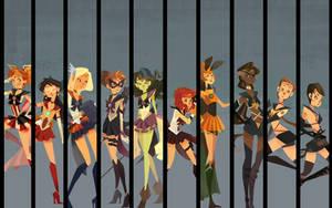 Sailor Avengers Wallpaper Pack