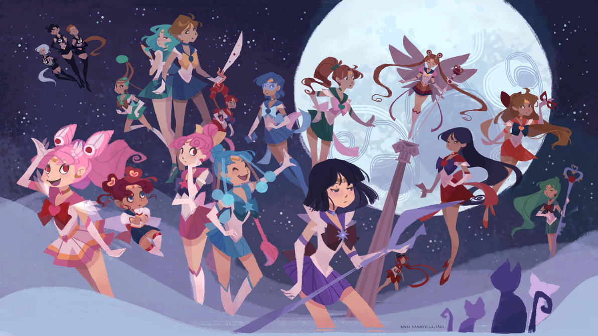 Sailor Soldiers Wallpapers By Nna
