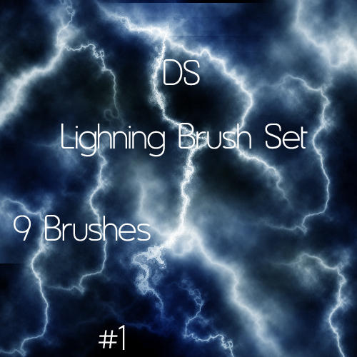 Lightning Brush Set 1 by Dudeshibby