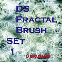 Fractals Set 1 by Dudeshibby