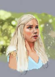 Khaleesigif by oznasl