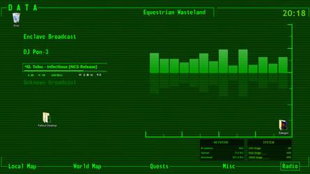 Fallout Desktop Theme by SuperStarPL
