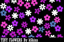 Tiny Flower Brush Pack by kShinn