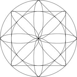 Geometric exploration mandala by LilFluff