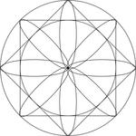 Geometric exploration mandala