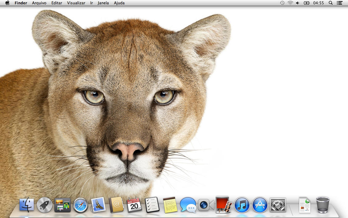 B Mobile Mountain Lion Mountain Lion Default ...