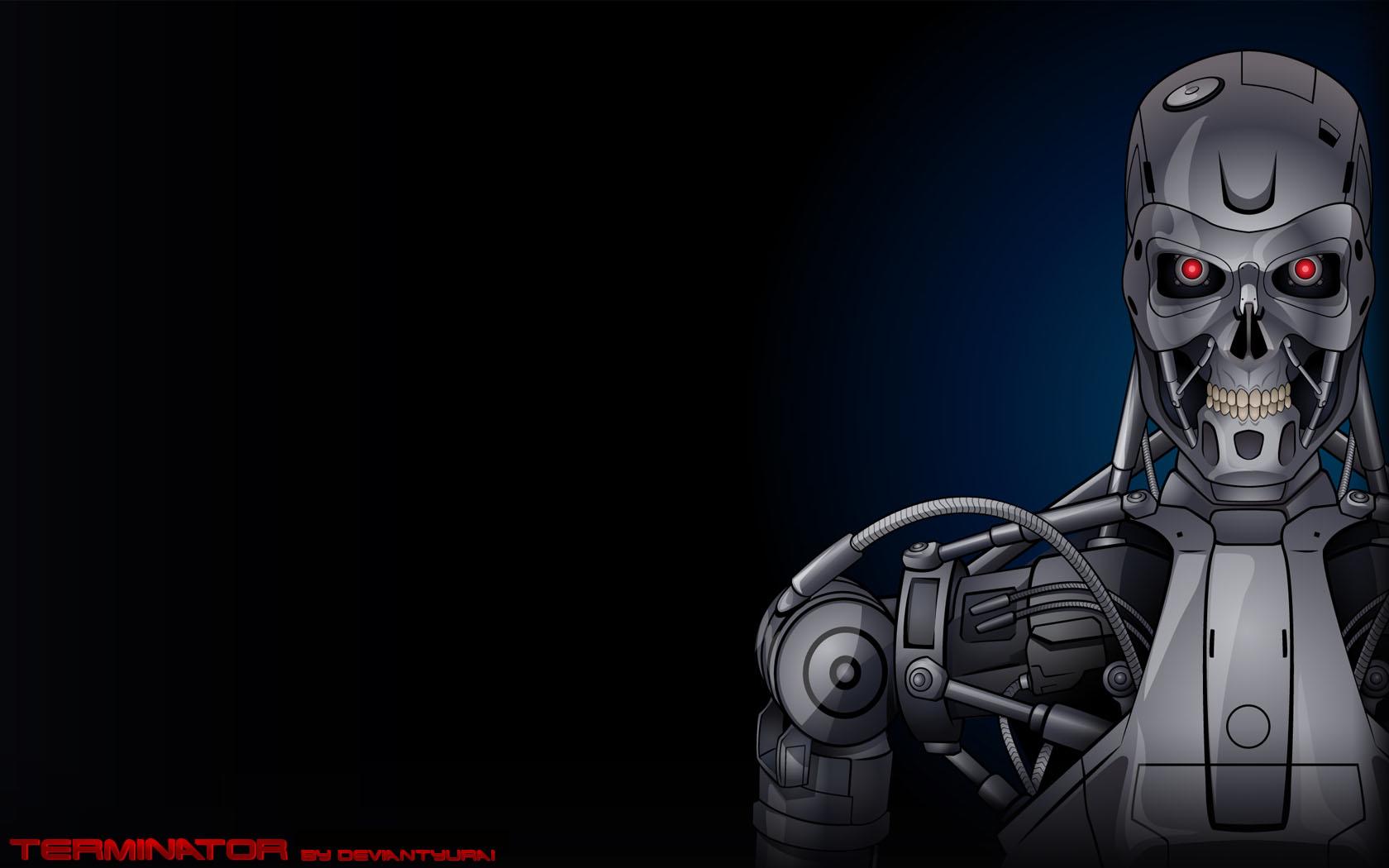 Terminator Wallpaper by YulayDevlet on