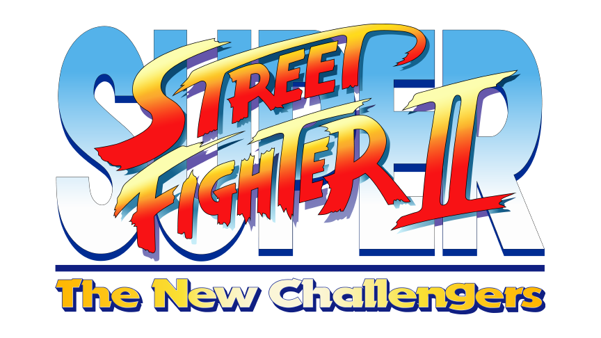 Super Street Fighter Ii Vector Logo 1993 By Imleerobson On