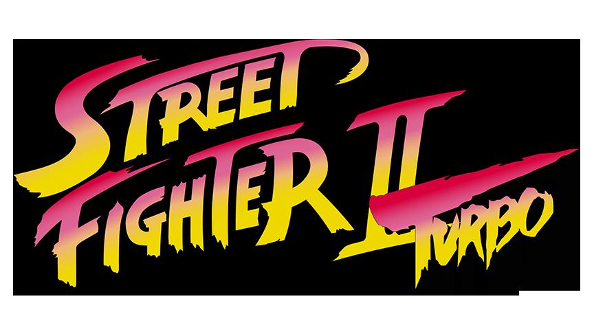 Street Fighter Ii Turbo Vector Logo 1992 By Imleerobson On