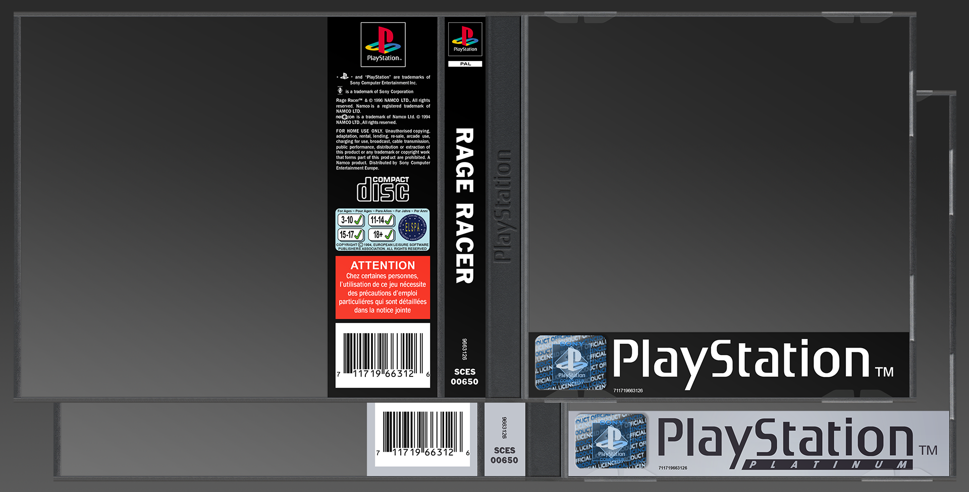 PlayStation UK Case Template PSD by imLeeRobson on DeviantArt