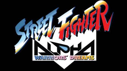 Street Fighter Alpha Vector Logo (1995)