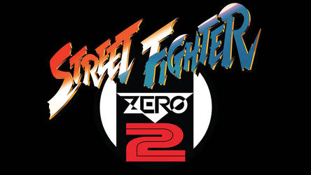 Street Fighter Zero 2 Vector Logo (1996)