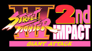 Street Fighter III: 2nd Impact Vector Logo (1997)