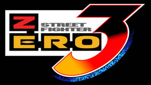 Street Fighter Zero 3 Vector Logo (1998)