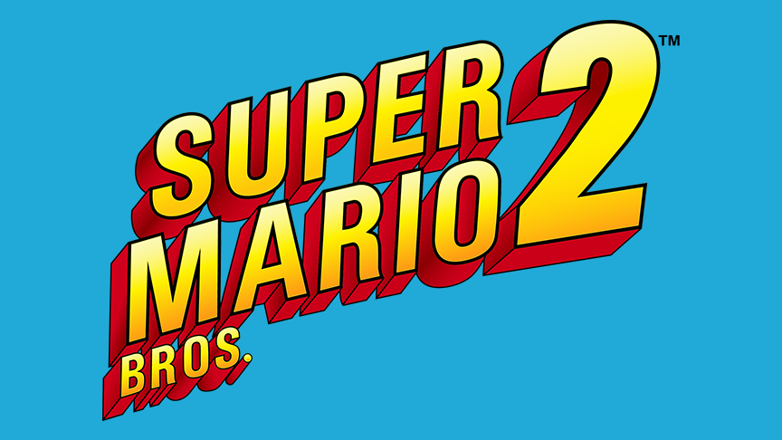 Super Mario Bros 2 Vector Logo 1988 By Imleerobson On Deviantart